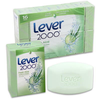 Lever 2000 Soap 4oz 16pk6 Aloe
