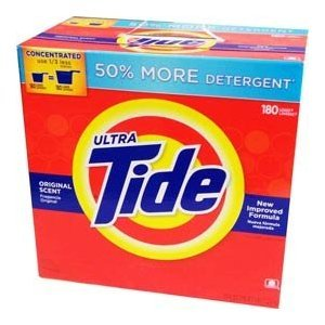 TIDE POWDER 180LD ORIGNAL HE ULTRA  (sell by unit)